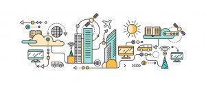 Illustrazione Smart City